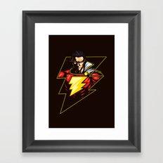 Captain Thunder Framed Art Print