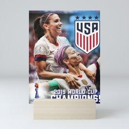 2019 World Cup Champions Mini Art Print
