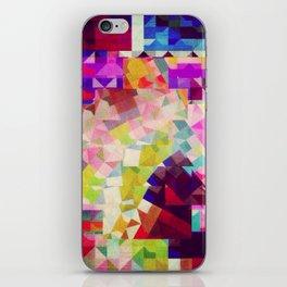 paper cut horse iPhone Skin