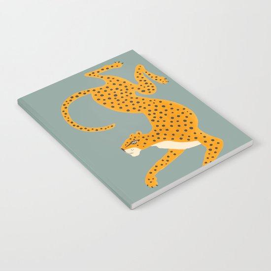 Leopard Race - blue by megangalante