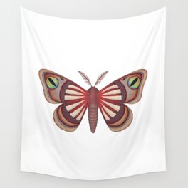demon (made up moth) Wall Tapestry
