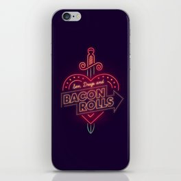 Sex, Drugs and Bacon Rolls iPhone Skin