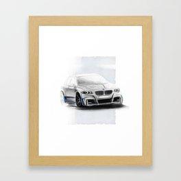 Bavarian car M5 F10 Artrace body-kit Framed Art Print