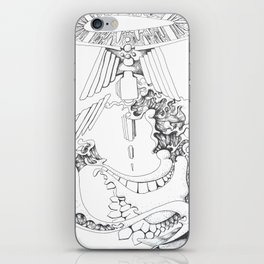 Dragon's eye iPhone Skin