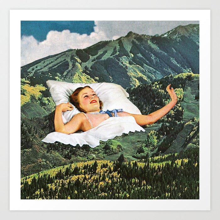 Rising Mountain Kunstdrucke