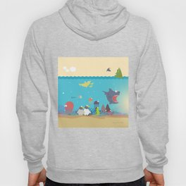 What's going on at the sea? Kids collection Hoody
