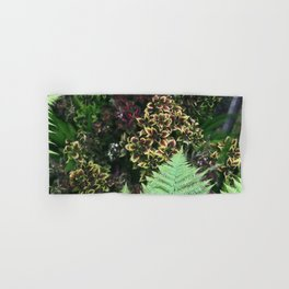 Painted Nettles and Ferns Hand & Bath Towel