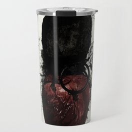 Raven and Heart Grenade Travel Mug