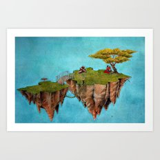 Island for Two Art Print