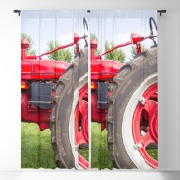 Vintage Tractor Blackout Curtain