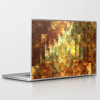 crystals Laptop & iPad Skins featuring Crystals by Rhawrbhawrburr