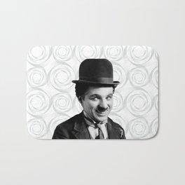Charlie Chaplin Old Hollywood Bath Mat