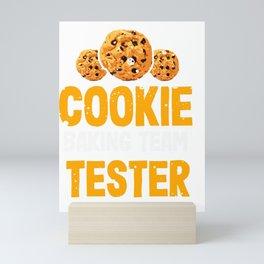 Cookie Baking Team Tester Mini Art Print