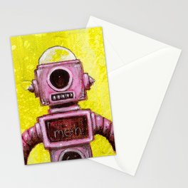 Meh Bot Stationery Cards