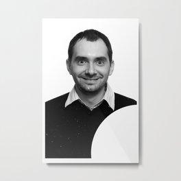 passport photo Metal Print