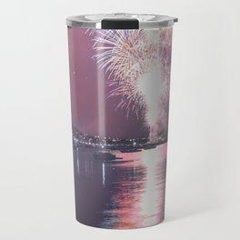 NYE Fireworks in Geelong, Victoria - Australia Travel Mug