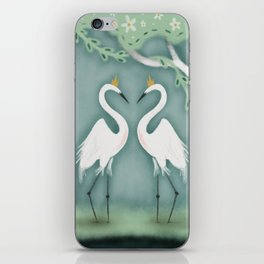 The Crane Princesses iPhone Skin