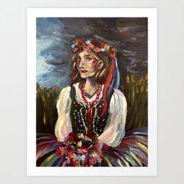 Rusalka Art Print