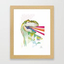 Dinosaur / August Framed Art Print