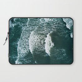 Wavy Waves on a stormy day Laptop Sleeve
