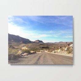 the river road Metal Print