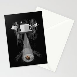 Mr. Coffee Bean Stationery Cards