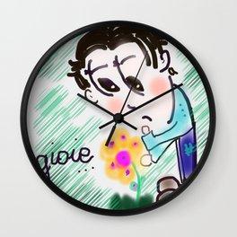 Piccole gioie Wall Clock
