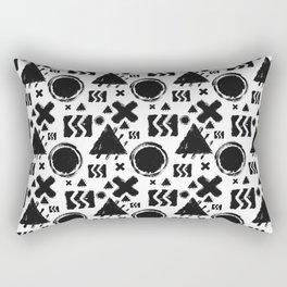 Rugged Geometrix Rectangular Pillow
