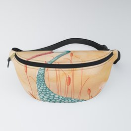 An Exotic Stork Fanny Pack