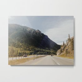 I-70 Canyon Metal Print