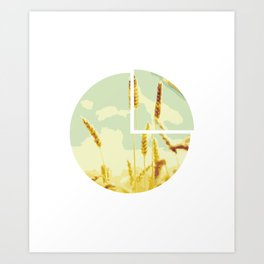On the other side of the mountain Art Print
