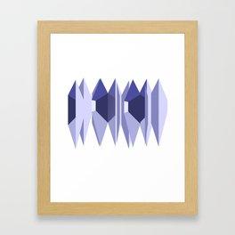 Wave Forest Framed Art Print