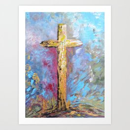 Colors of the Cross Art Print