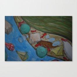 Las Vainas de la Vida // The Uncertainties of Life Canvas Print