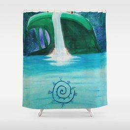 Waterfall Gateway Shower Curtain