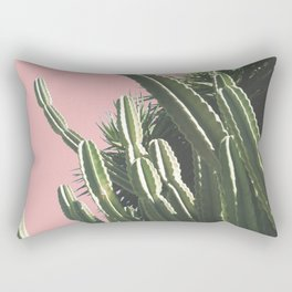The Magic Cactus_Rose Rectangular Pillow