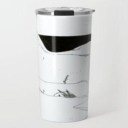 NUDEGRAFIA - 32 Don't Panic Travel Mug