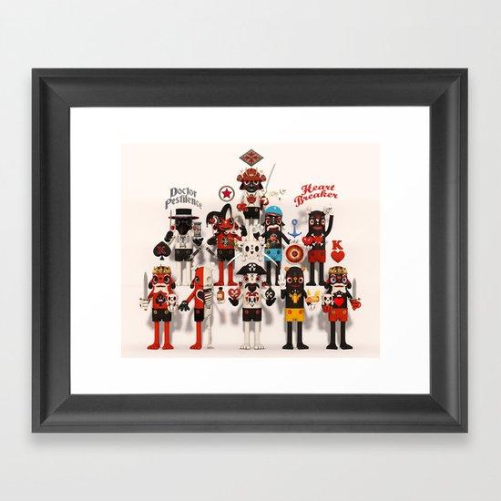 Pretender Collective Framed Art Print