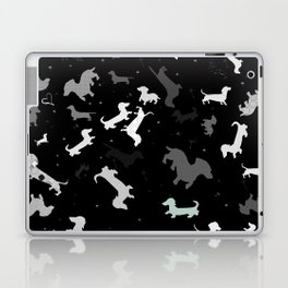 dachshund dog constellation Laptop & iPad Skin