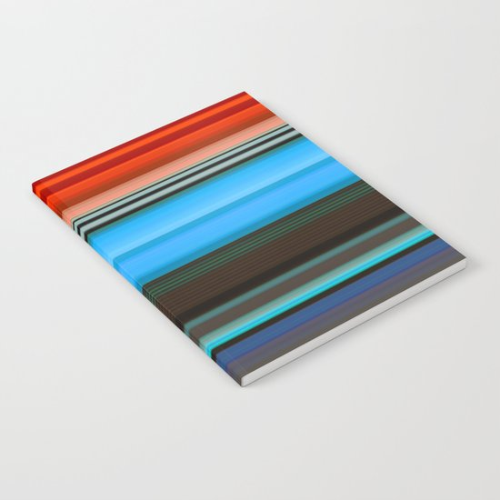 stripes 251 Notebook