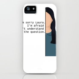 Humans iPhone Case