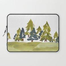 Varigated pine forest Laptop Sleeve
