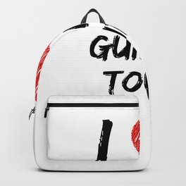 I Love Guiding Tours Backpack
