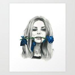 Kiss Me Harder Art Print