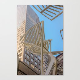 downtown sky Canvas Print