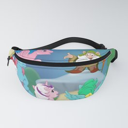 g1 My Little Pony Rescue at Midnight Castle version 2 (cast) Fanny Pack