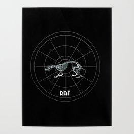 Rat Animal Totem Poster