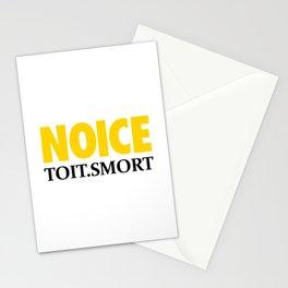 NOICE TOIT SMORT Stationery Cards