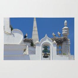 Arco da Vila storks Rug