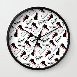 Jordan 11 - Multi Color - Pattern Wall Clock
